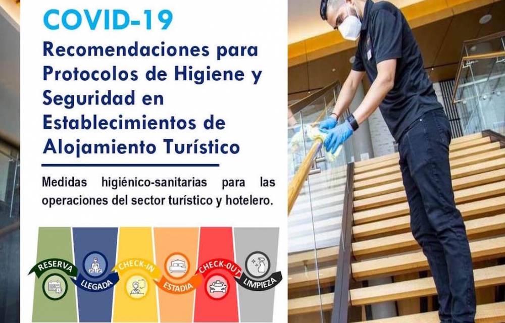 RECOMENDACIONES PARA PROTOCOLOS DE HIGIENE Y SEGURIDAD - AVECINTEL - 1ª EDICIÓN