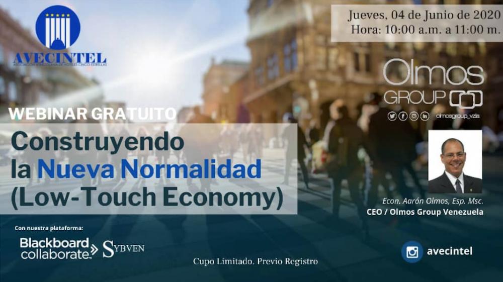 CONSTRUYENDO LA NUEVA NORMALIDAD (LOW-TOUCH ECONOMY)