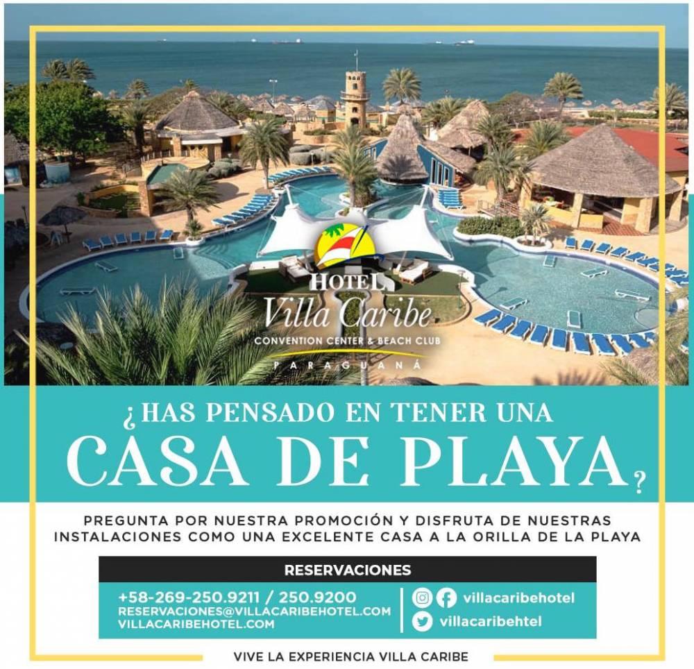 Hotel Villa Caribe Paraguaná es tu casa de playa