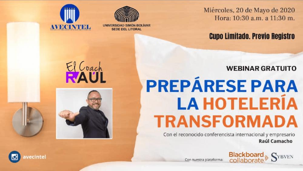 """SEMINARIO WEB: """"PREPÁRESE PARA LA HOTELERÍA TRANSFORMADA"""""""
