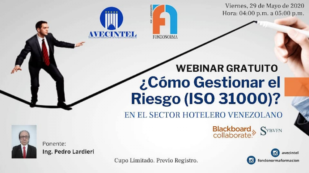 ¿CÓMO GESTIONAR EL RIESGO (ISO 31000) EN EL SECTOR HOTELERO VENEZOLANO?
