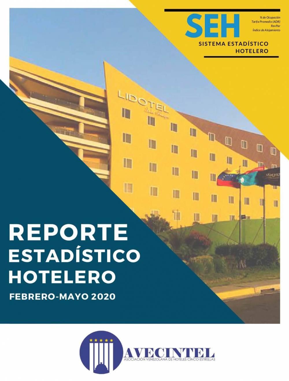 REPORTE ESTADÍSTICO HOTELERO DE AVECINTEL - FEBRERO-MAYO DE 2020