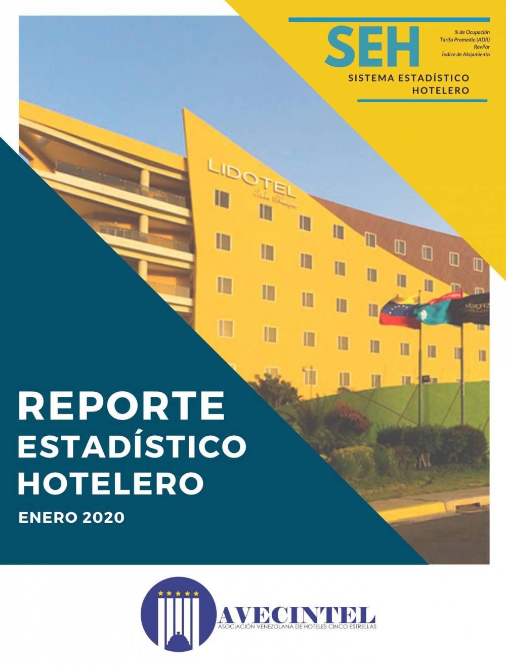 REPORTE ESTADÍSTICO HOTELERO DE AVECINTEL - ENERO DE 2020
